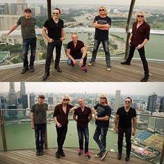 One day in Singapore 2015... #DefLeppard (Photos by @RossHalfin)