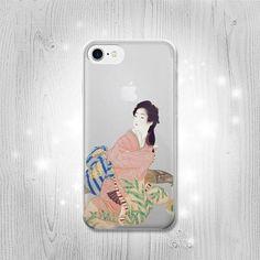 Japan Art Shoen Daughter Miyuki Transparent Clear by Lantadesign