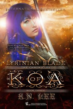 Cover created for Author K. N. Lee