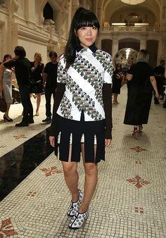 Susie Lau at Paris Couture Week