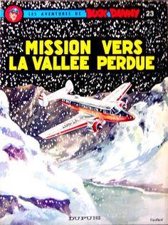 Buck Danny -23- Mission vers la vallée perdue - 1960
