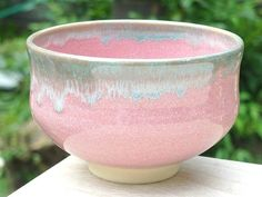 Shoindo | Rakuten Global Market: Shimizu yaki pink Oribe rim tea bowl