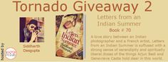 A love story between an Indian photographer and a French artist,Will the secrets they harbour end up destroying them, or will the unspoken belief in their entwined cosmic paths be much too strong a force . . . ? #TornadoGiveaway #thebookclub