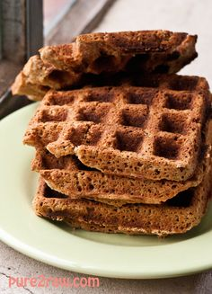 protein-waffles-egg-free