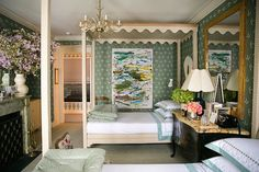 BEAUTIFUL BEDROOM CATHERINE OLASKY AND MAXIMILIAN SINSTEDEN, OF OLASKY & SINSTEDEN, DESIGNED FOR THIS YEARS KIPS BAY SHOW HOUSE.