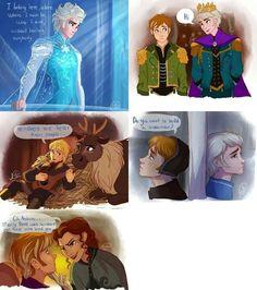 Frozen gender bender moments