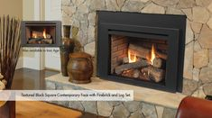 Harmony Direct Vent Gas Fireplace Inserts by Monessen Hearth Vented Gas Fireplace Insert, Direct Vent Gas Fireplace, Fireplace Inserts, Fireplace Stores, Stove Fireplace, Wood Fireplace, Interior Decorating, Interior Design, Basement Remodeling