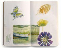 Garden Lesson:  Sketchbook eye-candy