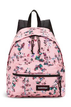 design de qualité 04917 5b855 This Eastpak Brize Mel Pink Out of Office backpack is draped ...