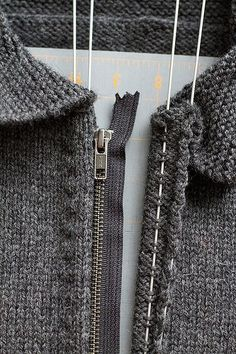 EASY zipper addition tutorial.