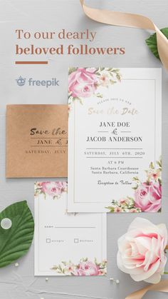 Funny Wedding Invitations, Save The Date Invitations, Bridal Shower Invitations, Invitation Card Design, Wedding Invitation Templates, Wedding Planning Checklist, Wedding Signage, Flower Frame, Special Day