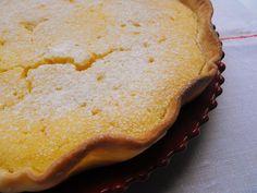 Tarte de coco com custard e laranja - Galinha Maria