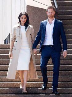 Duke And Duchess, Duchess Of Cambridge, Vogue Australia, Sydney Australia, Navy Midi Dress, Prince Harry And Meghan, Queen Elizabeth Ii, Royal Fashion, Meghan Markle