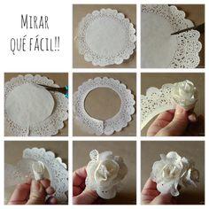Flores blancas comestibles o no!!