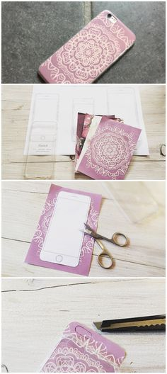 DIY Handyhülle / Phonecase | www.typique.de (Cool Crafts Creative)