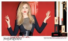 cara ysl beauty photos2 Hot Shots! Cara Delevingnes New Ads for YSL Beauty