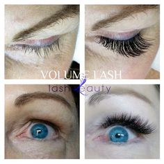 Our non-surgical solution to looking young and fabulous instantly: Volume Lash extensions! #lashbeauty #eyelashextensions #lashextensions #volumelash