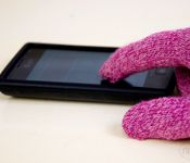 oh my goodness, i wish i saw this a few months ago.  Easy DIY tech gloves~!