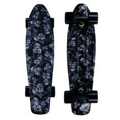 Mayhem Skateboard 22-in SKULLS