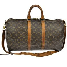 Louis Vuitton Monogram Canvas Brown Travel Bag