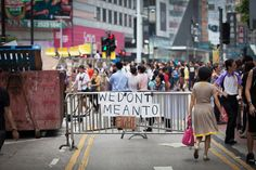The Umbrella movement in Hong Kong by Maxime Breitung