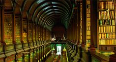 The Old Library of Trinity College