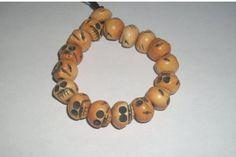 MARCH SALE Expandable Skull Bead Bracelet by MICSJEWELSGALORE