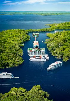 River Hotel in Manaus, Amazonas.