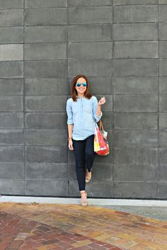 Outfit: Spring Chambray | THE MODERN SAVVY