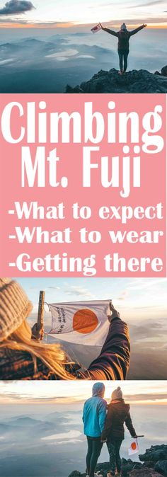 Conquering Mt. Fuji – Life With Bren tips for hiking mt fuji. If you plan to travel to Japan this is a must. Find out how to get there, what to where and what to expect! Things to do in Japan