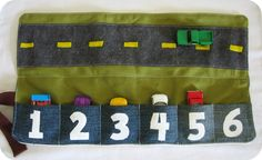 homemade by jill: cozy car caddy tutorial http://kidsactivitiesblog.com/48630/21-homemade-gifts-for-3-year-olds