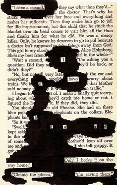 The blackout poetry: Listen a second. I have a heart. Only I broke it on the way home. Gimme the pieces, I'm saving them. Poem Quotes, Poems, Life Quotes, Pretty Words, Beautiful Words, You Are My Moon, Found Poetry, Poetry Art, Poetry Poem