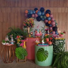 Party Planning, Shower Ideas, Birthday Ideas, Backdrops, Bridal Shower, Planter Pots, Balloons, Events, Table Decorations