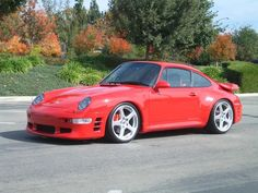 Porsche 993 Turbo Ruf