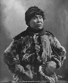 Alaskan Indian known as Chief Schwatka, Alaska, ca. 1897