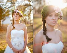 would love something like this for a bridal shoot | Blest Photography