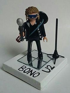 Bono de U2!! Jack Clirk Project, Playmobil Custom Facebook/JackClirkProject Jack.clirk@gmx.de