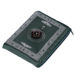 Hitopin Portable Black Color Muslim Prayer Rug with Compass Pocket Size Prayer Mat ompass Qibla finder with Booklet Waterproof Material HP-PMBk Muslim Prayer Rug, Islamic Prayer, Prayers For Direction, Prayer Position, Star Mobile, Islamic Gifts, Home Textile, Compass, Pocket