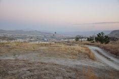 Dawn in Cappadocia, Turkey, before our hot air balloon ride