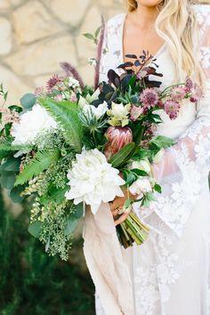 Effortless Bohemia in California / Wedding Style Inspiration / LANE