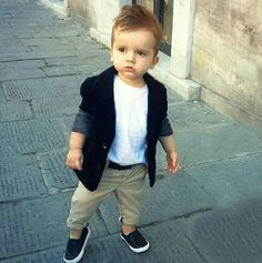 Meu filho Baby Boy Fashion Clothes, Toddler Boy Fashion, Little Boy Fashion, Kids Fashion, Baby Boy Dress, Baby Boy Swag, Little Boy Outfits, Baby Boy Outfits, Outfits Niños