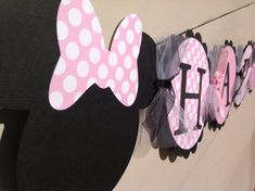 Baby Minnie Mouse Inspired Happy Birthday by inspirationsdesign