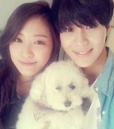 #we got married taemin and naeun