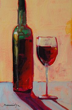 Wine Painting — Crafthubs                                                                                                                                                                                 More