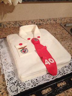 Benfica taart