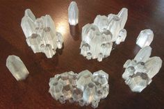 After getting several requests, we have decided to post thefiles for the crystals you can see here. The small crystals are what we used for that post. You can modify or take it as-is. The just bri…
