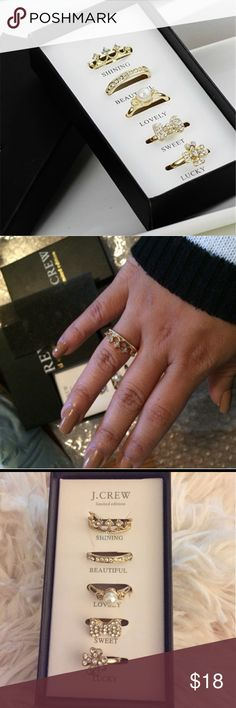 Classy Ring. PRICE  is for a LIMITED time ! Gold Plated CZ Ring. Size; 6-8. Can be adjustable. Jewelry Rings