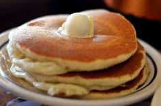 Pancakes + butter