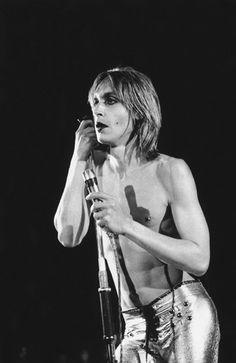 Iggy Pop, 1973, by Mick Rock.