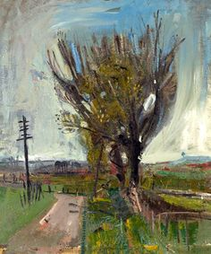 Joan Eardley A Country Road 1957 Oil on canvas Private collection Pastel Landscape, Landscape Artwork, Abstract Landscape, Abstract Art, Glasgow, Abstract Sculpture, Contemporary Paintings, Artist Art, Painting Inspiration